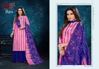 MAYA Cotton Printed Dress Material