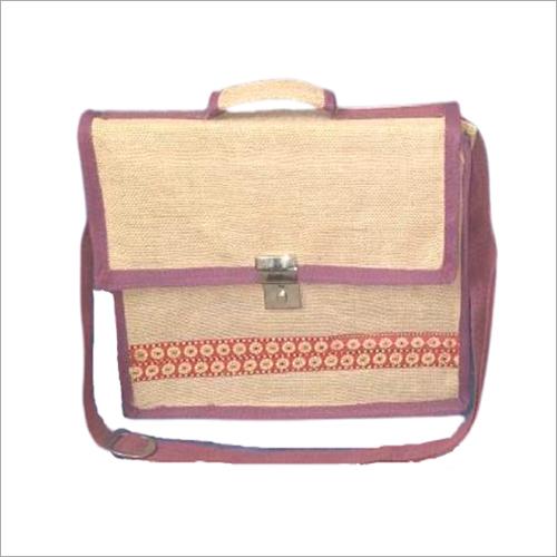Designer Jute Laptop Bag