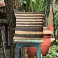 India Jute Kilim Cushion Pillow Covers Sofa Home Decor