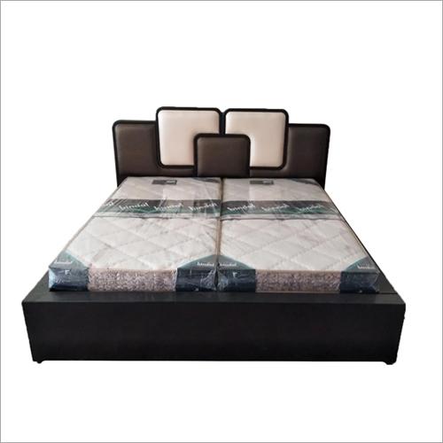 Designer Dark Brown Double Bed