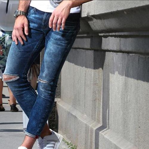 Rugged Denim Jeans