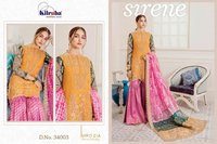 Net Heavy Embroidery Dress Material
