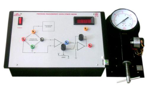 Pressure Measurement using Strain Gauge