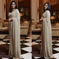 Georgette Saree With Sequence Work All Over