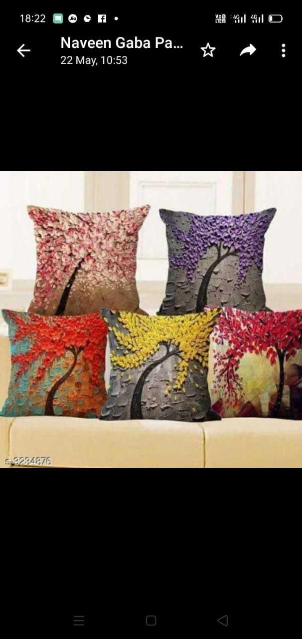 Designer Sofa cushion covers