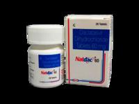 Natdac (Daclatasvir Dihydrochloride Tablets 60 mg)