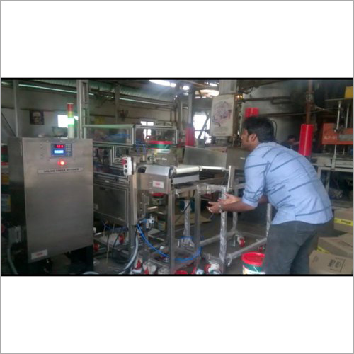 Online Check Weigher Machine