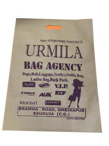 12x16 Inch D-Cut Non Woven Bag