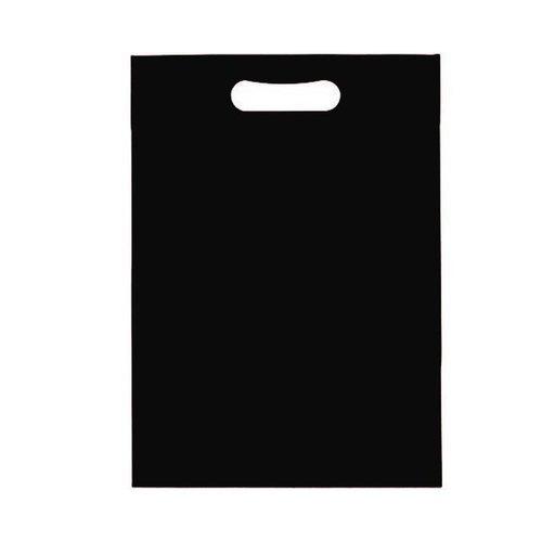 Black Non Woven D Cut Bag