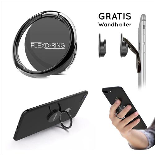 FLEXD-RING Hochwertiger Handy Phone Holder Fingerhalter Inkl. 2x Wandhalterung