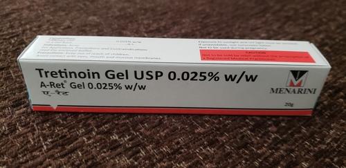 A-ret-tretinoin Gel Usp 0.025% W/w