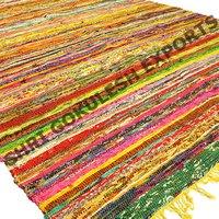 Handmade Cotton Rag Rugs For Floor Area Living Room