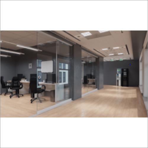 Three Panel Sliding Glass Wall System