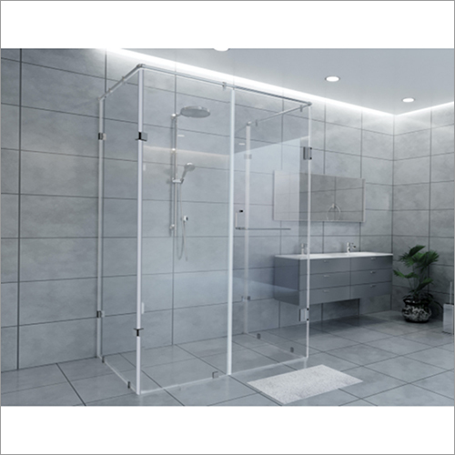 C-Shaped Shower Partition