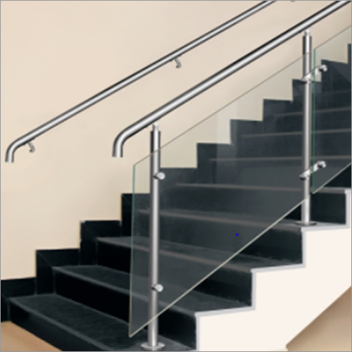Top Mounted Round Baluster Railing System