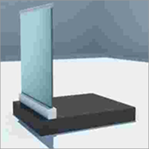 Top Mounted Seamless Glass Aluminum Profile