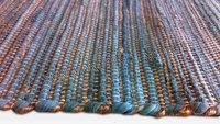 Indian Handmade Cotton Chindi Floor Area Rag Rugs