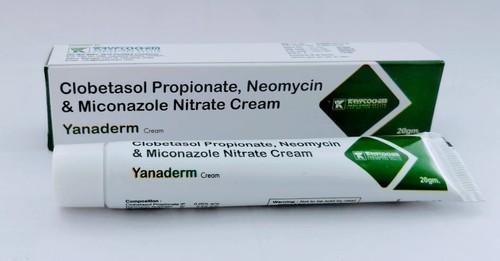 Clobetasol Propionate Neomycin And Miconzole Nitrate Cream Yanaderm