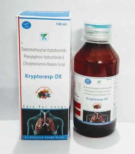 Dextromethorphen Hbr10mg +Phenylepherine Hcl 5mg +Chlorpheniremine 2mg