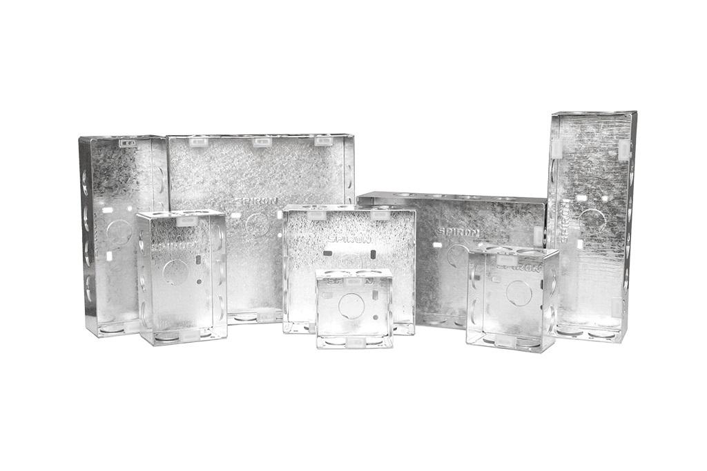 1 And 2 MODULE GI ELECTRICAL MODULAR BOX