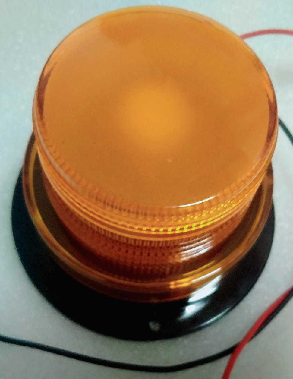 Forklift Safety Revolving Light with Magnetic Base & Buzzer