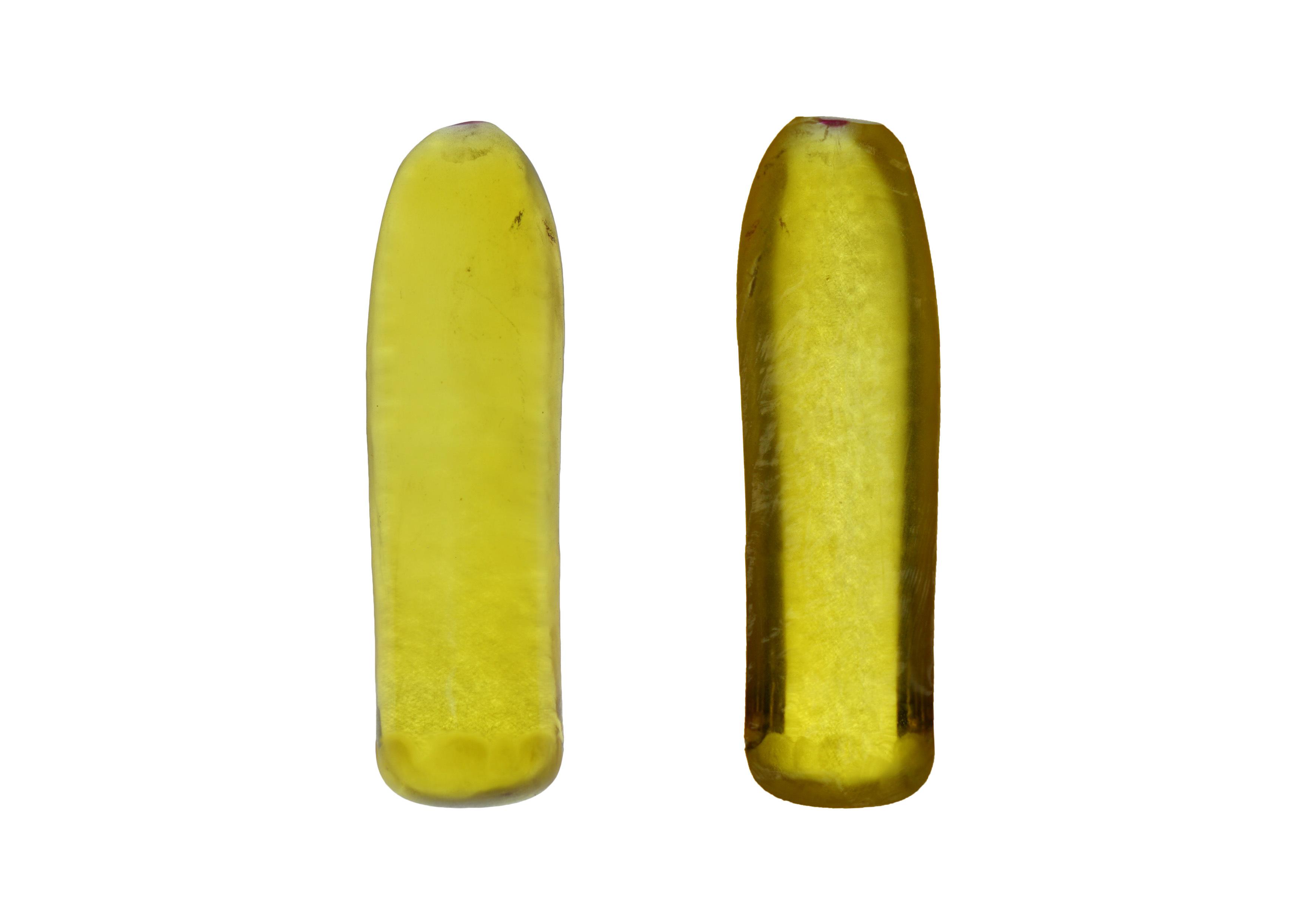 Yellow Corundum Rough