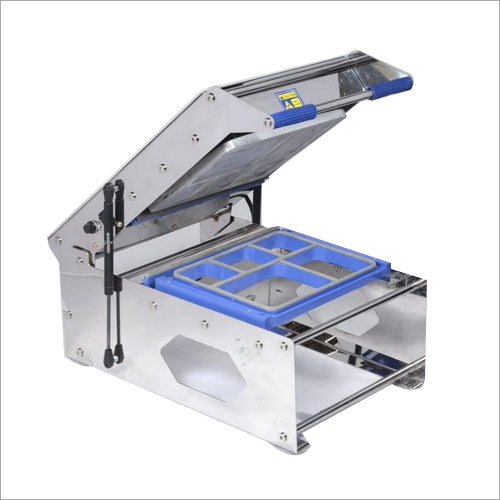 5 Portion Meal Thali Sealing Machine
