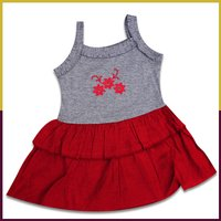 Sumix Daffodils Baby Girl Frock