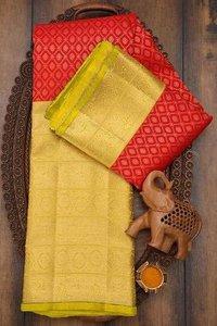 Ladies Kanchi Kora Silk Saree