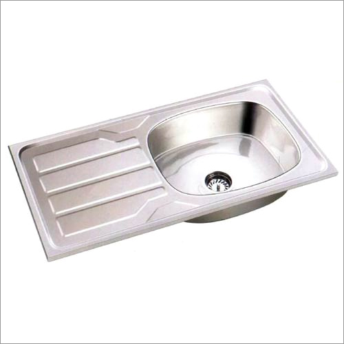 Stainless Steel Single Bowl with Drain Board