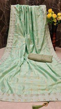 Jk Fashion Surat Brand Saree Banglori Silk With Daimond Saree