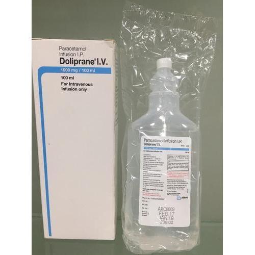 Paracetamol Infusions
