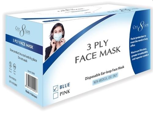 50 Pcs Packing Mask Box Printing