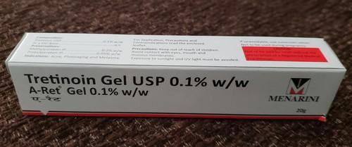 A-ret -tretinoin Gel Usp 0.1% W/w