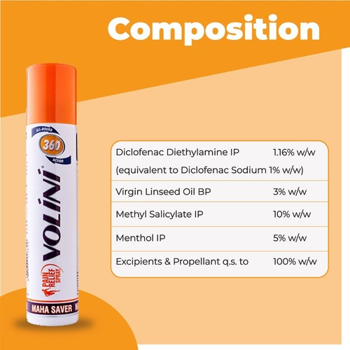 Volini Pain Relief spray