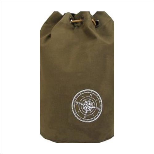 Wax Coated Cotton Canvas Bag