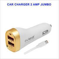 2 Amp Jumbo Car Charger