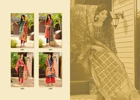 BANDHANI  JECARD SIlk Dress Material