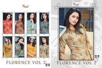 FLORENCE Vol 2 Heavy Rayon Foil Print Kurti