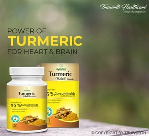 Truworth Turmeric (Haldi) Capsule