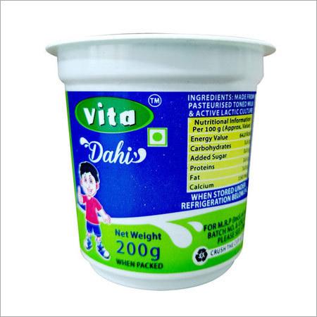 Vita Dahi Food grade Cup