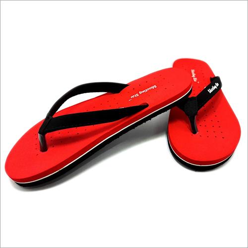 Ladies Red Color Slipper