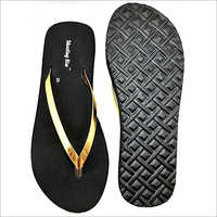 Ladies Ortho Black Soft Slipper