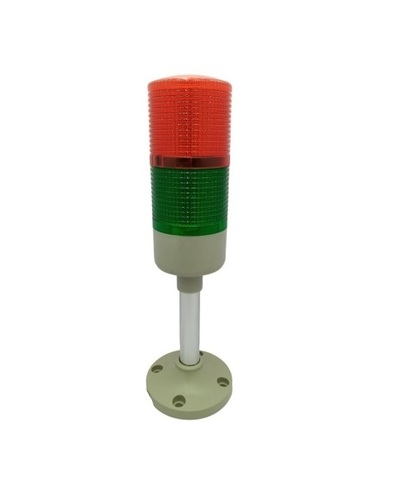 2 Tier LED Tower Light with Buzzer 230V