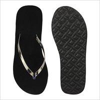 Ladies Heels Black Slipper