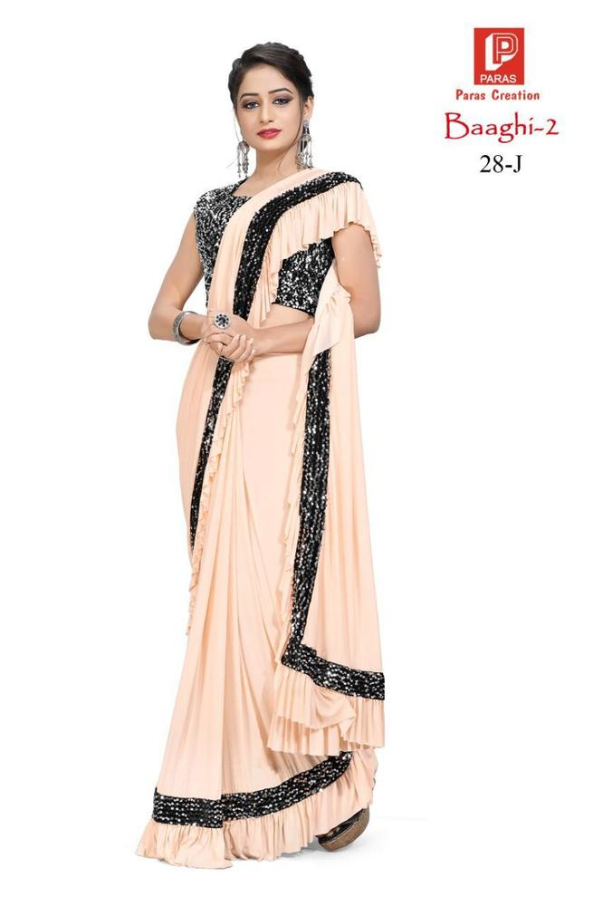 Imported Lycra Fabric saree