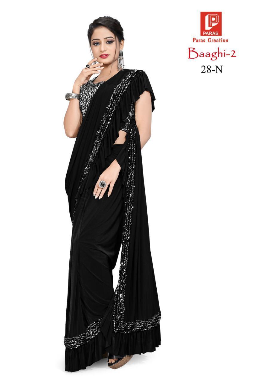Imported Lycra Fabric saree