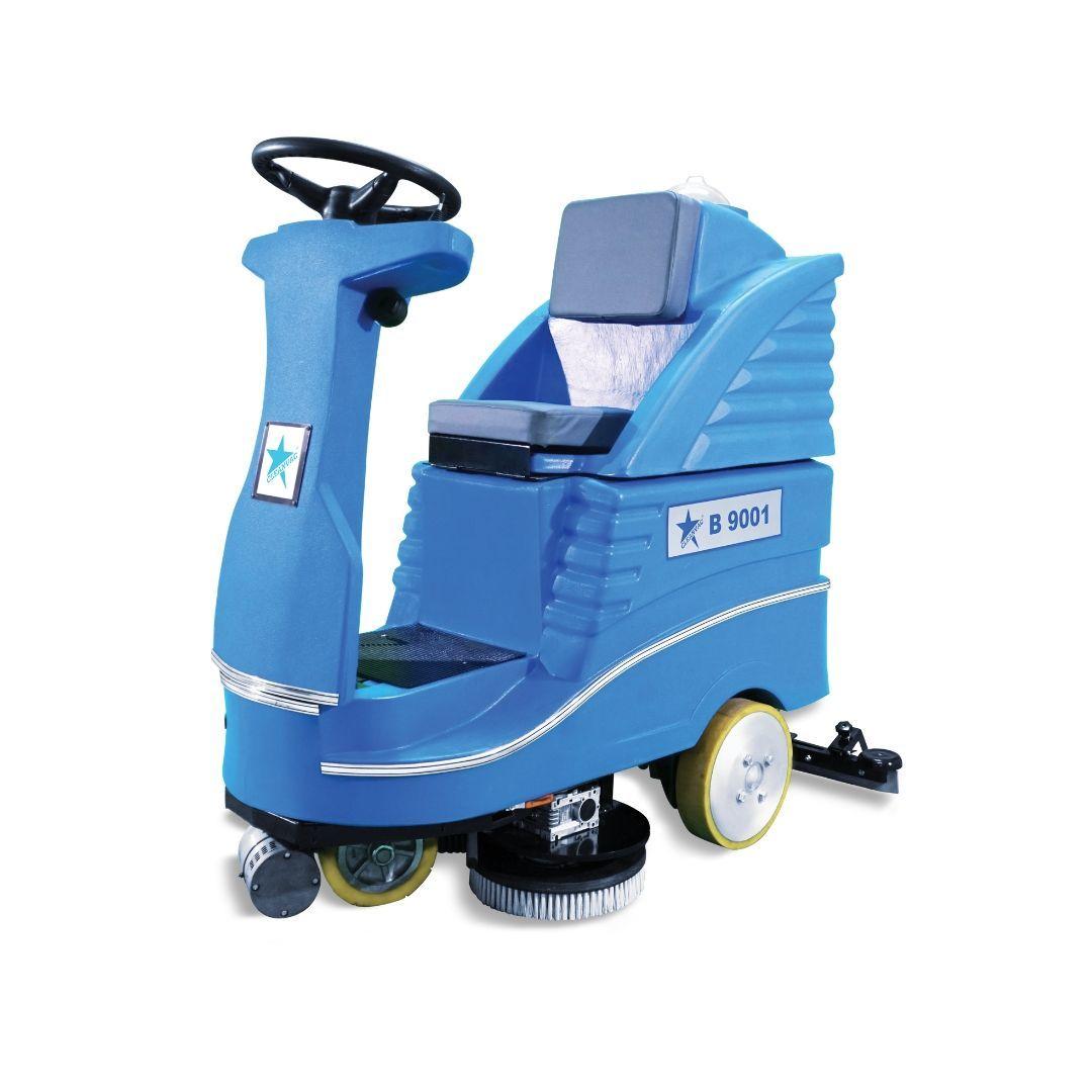 Ride-On Floor Scrubber Machines
