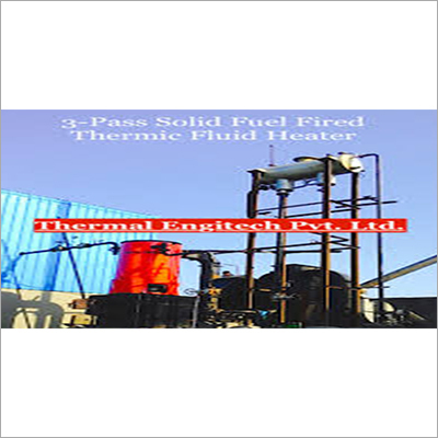 Solid Fuel Fired Vertical Thermic Fluid Heater