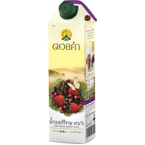 1000 ml. Doi Kham Mixed berry juice ,98%